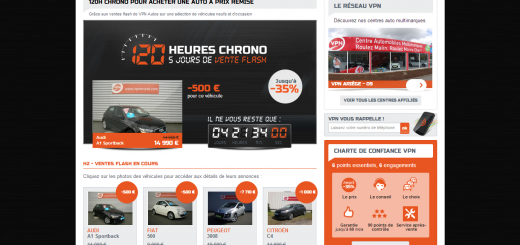 Vente flash : 120H Chrono VPN Autos