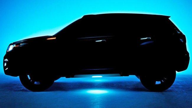 Teaser Concept Suzuki iV-4 pour le Salon de Francfort 2013