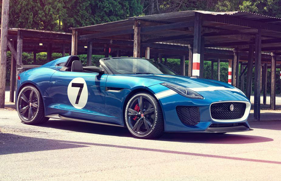 Project 7 en hommage à la Jaguar D-Type des 24 H du Mans