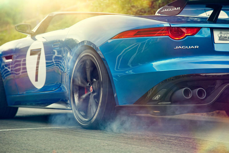 Jaguar Project 7 concept pour le Festival of Speed de Goodwood 2013