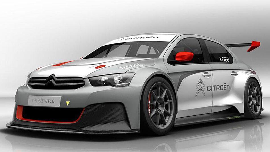 Citroën C-Elysée de Sébastien Loeb pour le WTTC 2014
