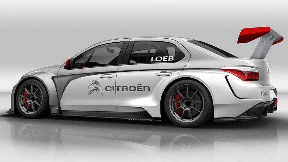 Citroën C-Elysée WTTC 2014