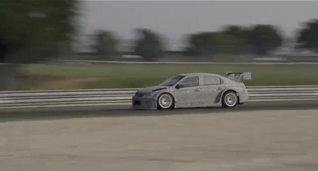 La Citroën C-Elysée WTTC de Sébastien Loeb à l'essai