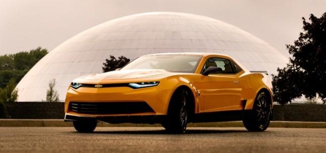 Concept Chevrolet Camaro 2014 pour Transformers 4