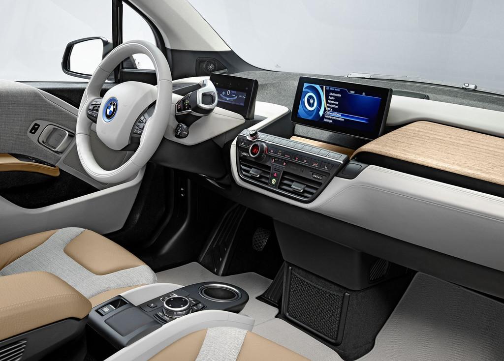 Intérieur de la BMW i3
