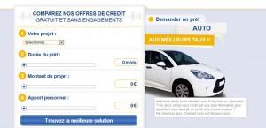 credeez demande de prêt auto