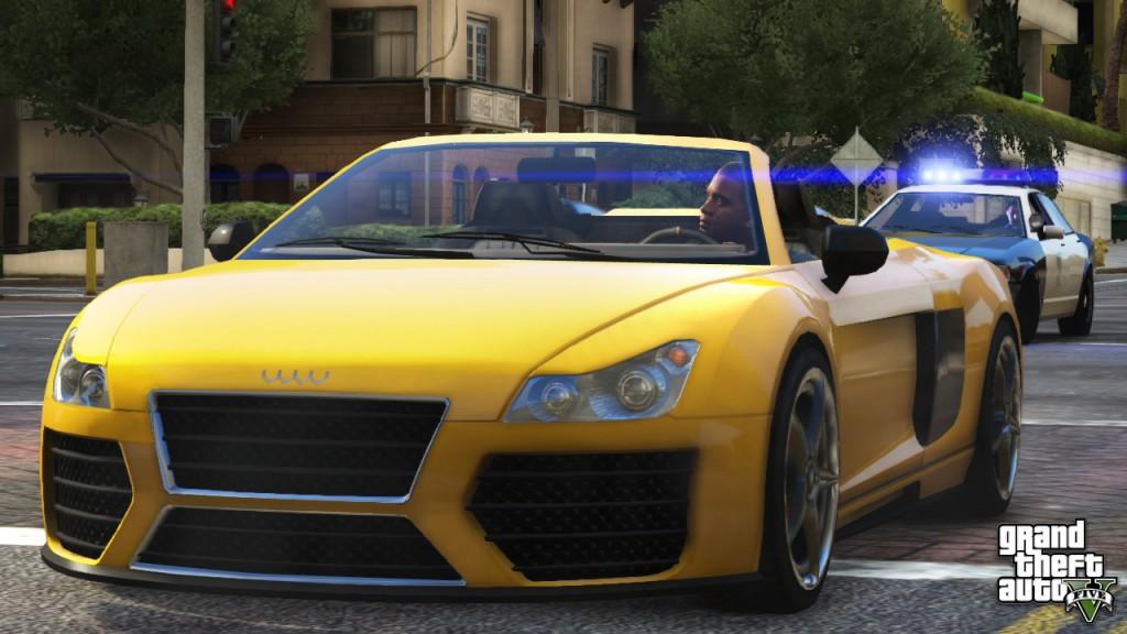 Reproduction d'une Audi R8 dans GTA 5