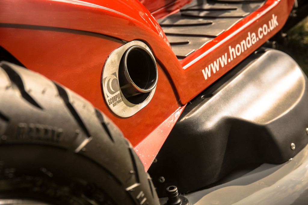 La tondeuse Honda Mean Mower