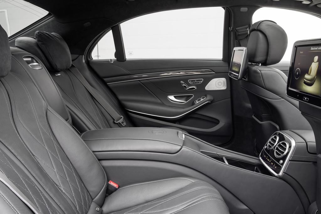 Intérieur de la Mercedes S63 AMG 2013