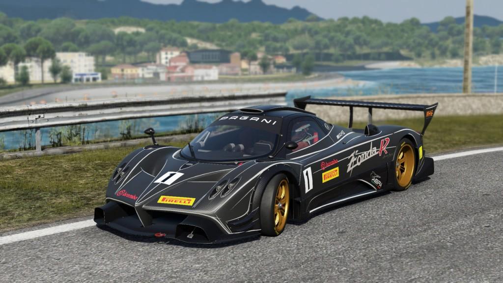 Project CARS sur PC : Pagani Zonda R
