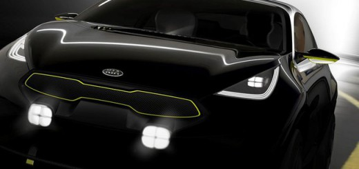 Photo Teaser d'un concept Kia pour le Salon de Francfort 2013