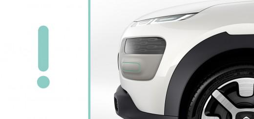 Citroën Cactus concept - Salon de Francfort 2013