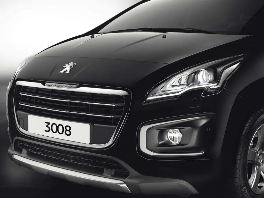Calandre de la Peugeot 3008 restylée