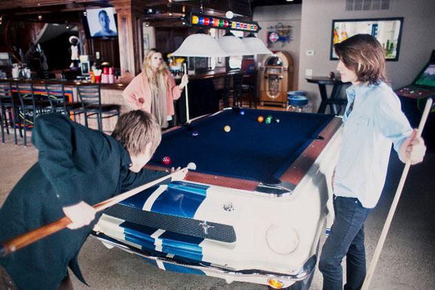 La table de billard Mustang Shelby GT-530
