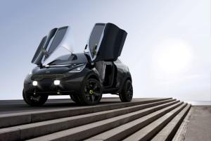 Concept car Kia niro francfort 2013