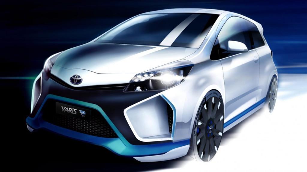 Toyota Yaris Hybrid-R Concept au Salon de Francfort 2013