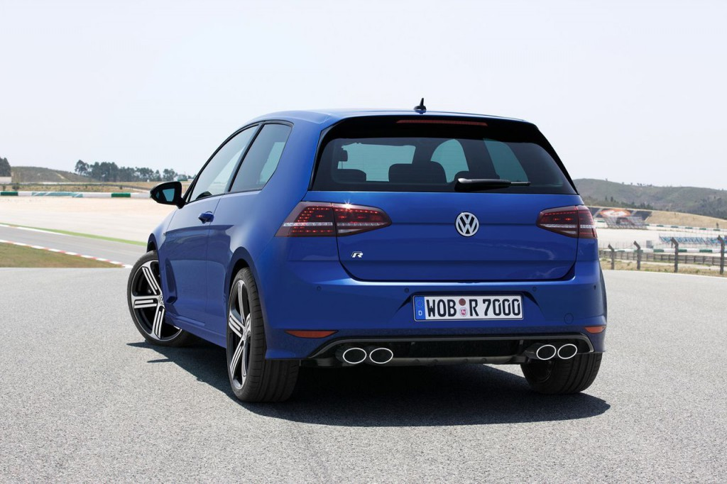 Photo de la nouvelle Golf R 2014