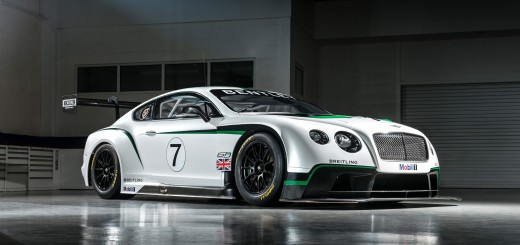 La nouvelle Bentley Continental GT3 au Festival of Speed de Goodwood 2013