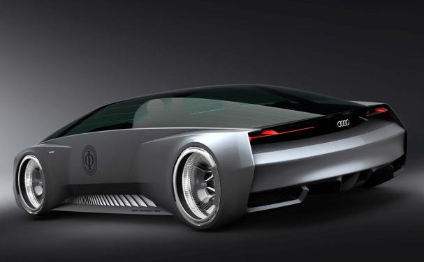 Une Audi futuriste pour l'univers de Ender's game