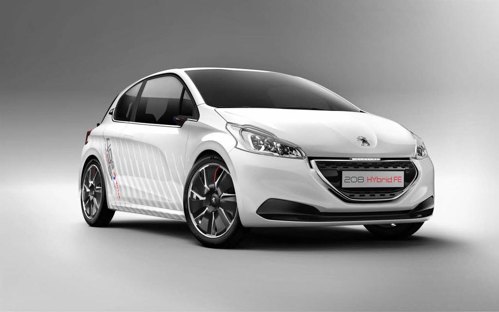 Peugeot 208 Hybrid FE Concept au Salon de Francfort 2013