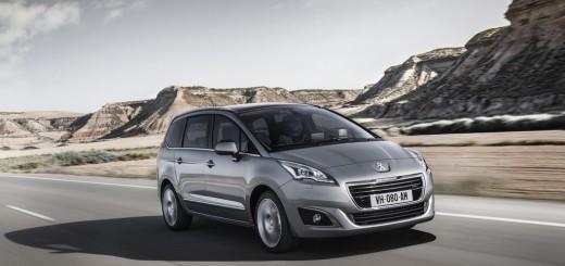 Peugeot 5008 restylé pour le Salon de Francfort 2013