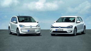 volkswagen e-Up et e-Golf