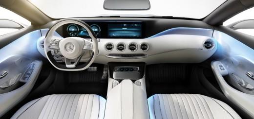 Intérieur de la Mercedes Classe S Coupé Concept