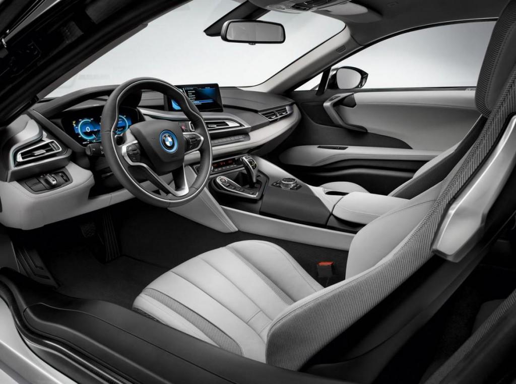 Intérieur du coupé hybrid BMW i8