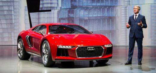 Audi Nanuk Quattro Concept 2013 au salon de Francfort