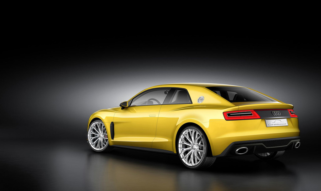 Audi Sport Quattro Concept -arrière