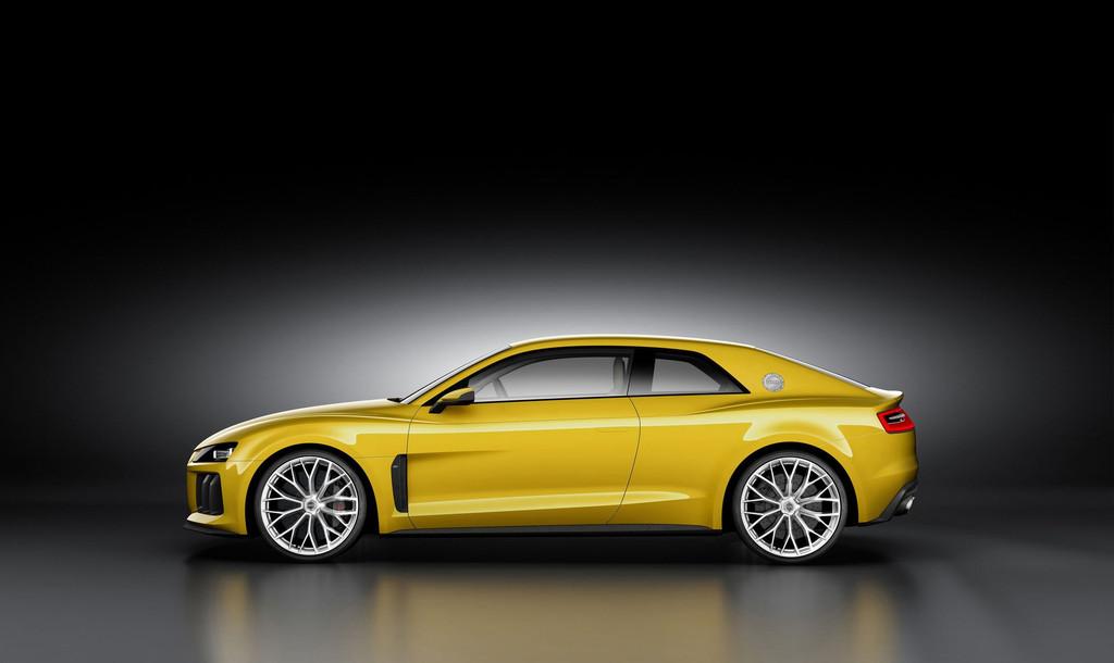 Audi Sport Quattro Concept -profil