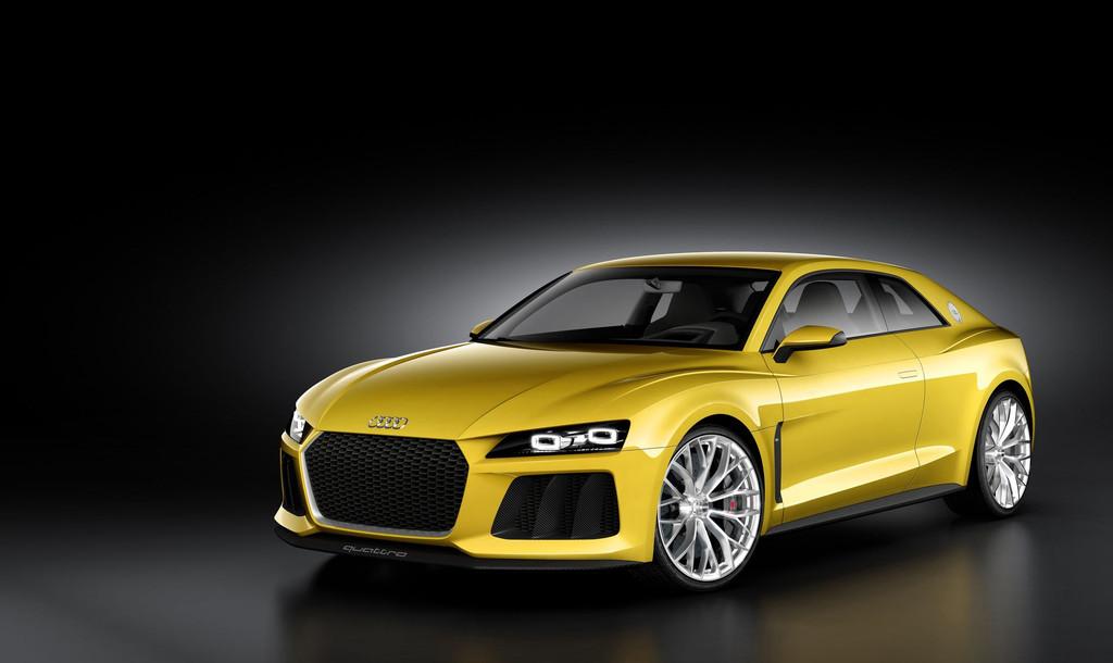 Audi Sport Quattro Concept pour le Salon de Francfort 2013