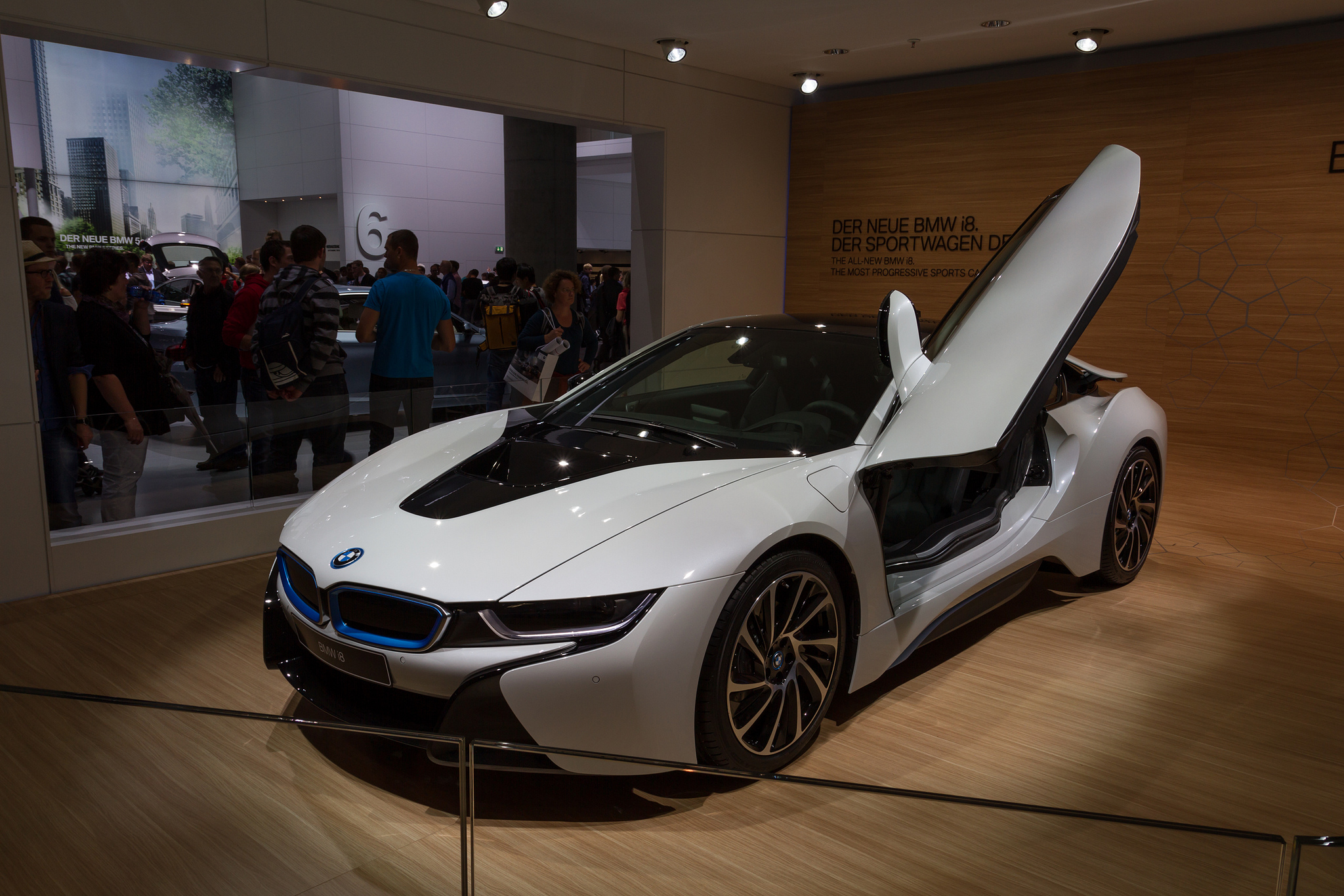 photos de la bmw i8 francfort 2013 blog auto. Black Bedroom Furniture Sets. Home Design Ideas