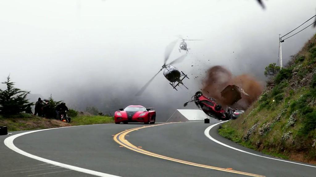 Un crash dans NFS le film