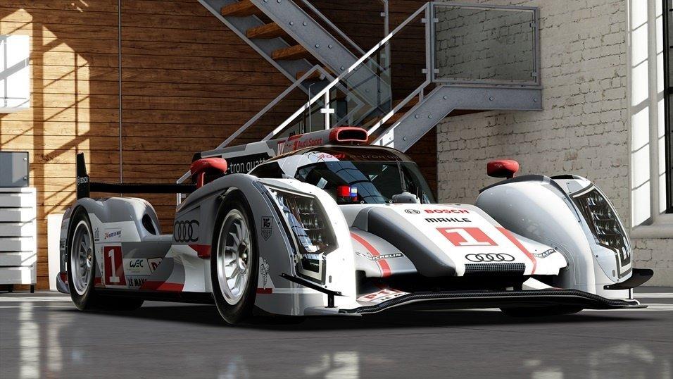 Audi R8 e-tron Quattro des 24h du Mans
