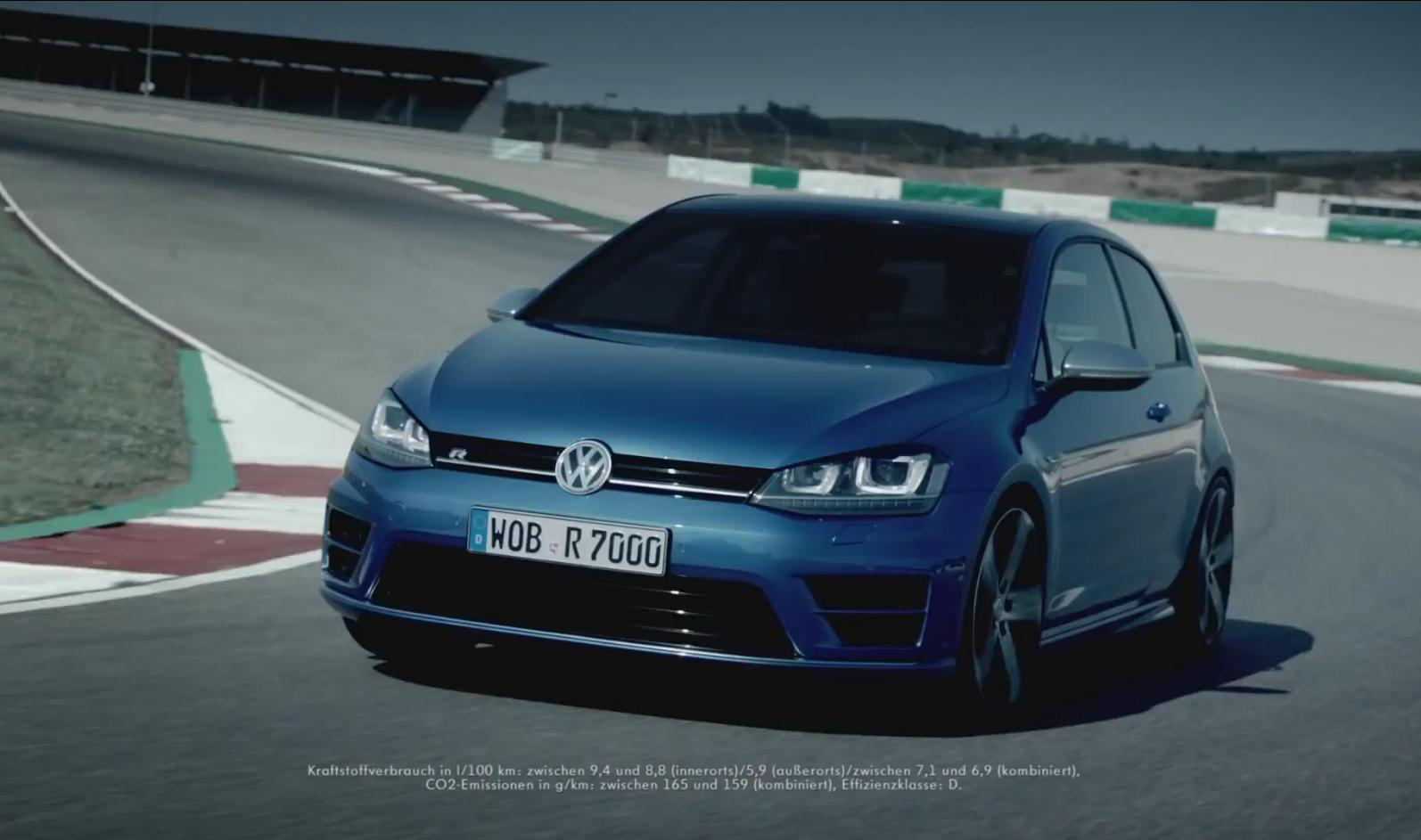 volkswagen golf 7 r une pub avec s bastien ogier blog auto. Black Bedroom Furniture Sets. Home Design Ideas