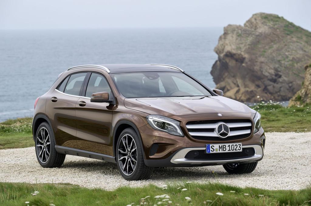 La Mercedes GLA 2014