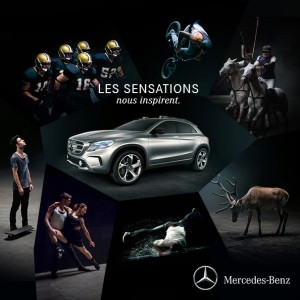 mercedes benz gla sensations