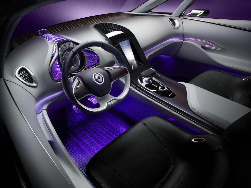 Intérieur Renault Initiale Concept 2013