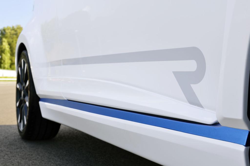 Jupe latérale de la Toyota Yaris Hybrid-R Concept