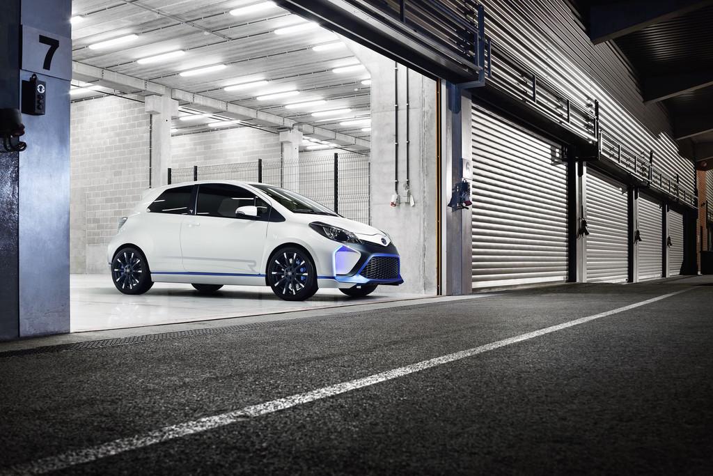 Toyota Yaris Hybrid-R Concept sera au Salon de Francfort