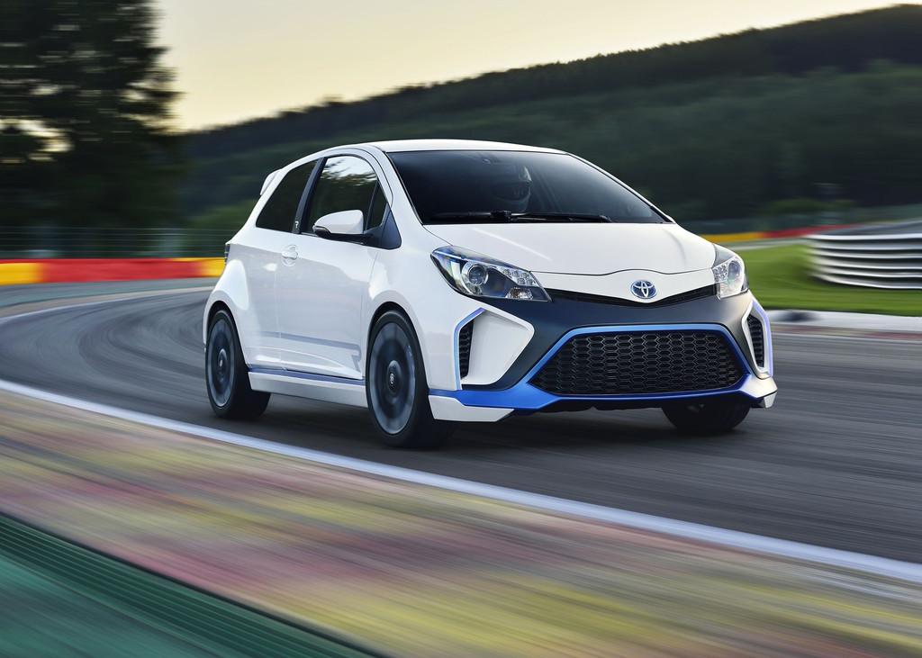 Toyota Yaris Hybrid-R Concept de 420 chevaux