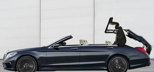 Mercedes Classe S cabriolet imaginée par un graphiste