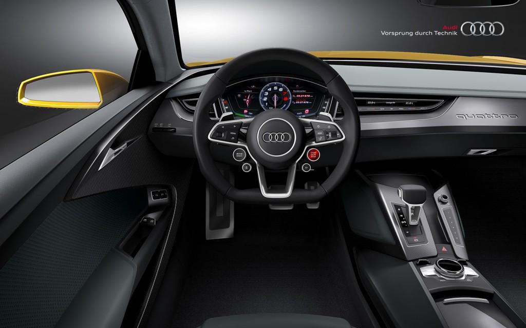 Intérieur Audi Sport Quattro Concept