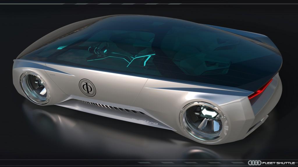 Audi fleet shuttle quattro dans la Stratégie Ender