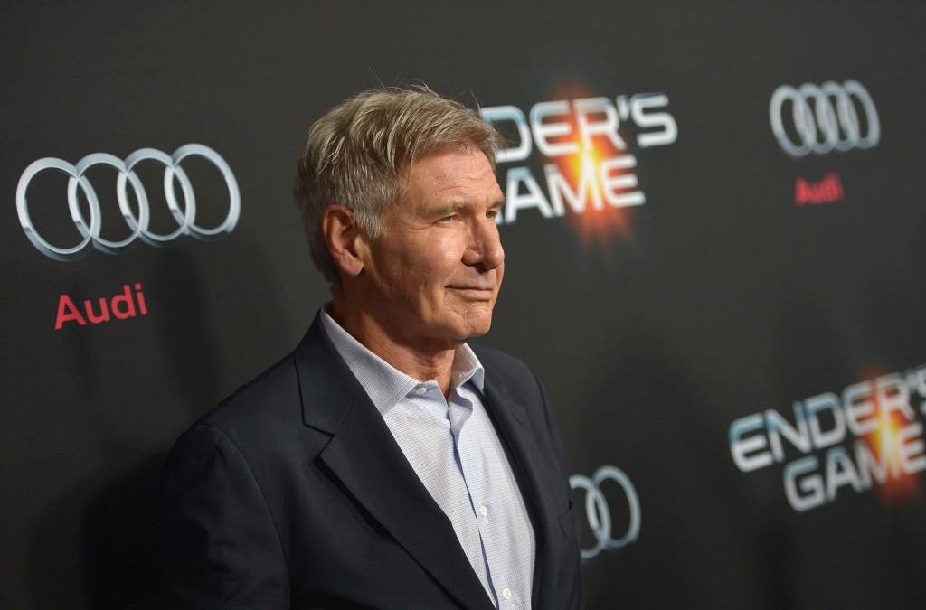 Harrison Ford à la première de Ender's Game