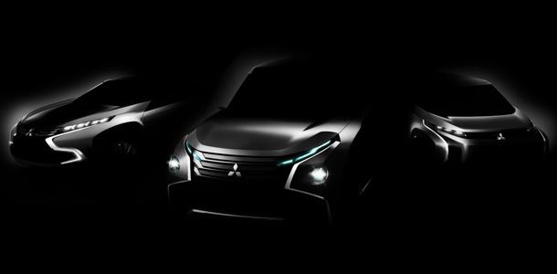 Teaser 3 concepts de Mitsubishi au Salon de Tokyo 2013