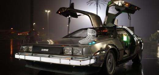 DeLorean de Retour vers le Futur 2 sera au Be Street Weeknd