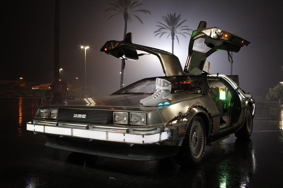 DeLorean de Retour vers le Futur 2 sera au Be Street Weeknd 2013