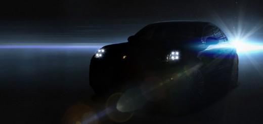 Teaser de la Porsche Macan pour le Salon de Los Angeles 2013